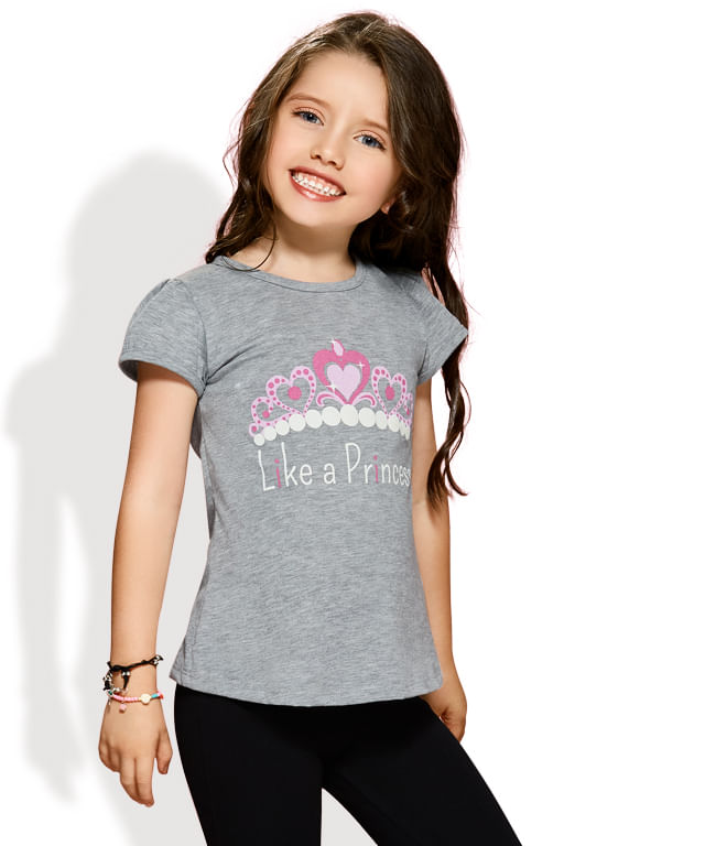 CAMISETA-LIKE-PRINCESS-GRIS