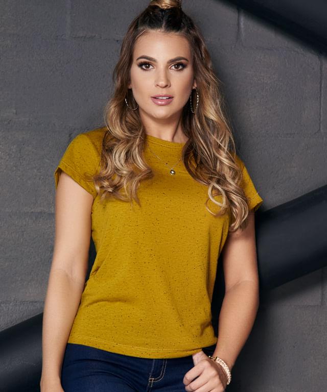 Camiseta-Elisa-Mostaza