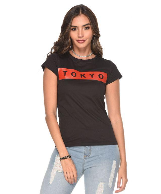 Camiseta-Tokio-Negro
