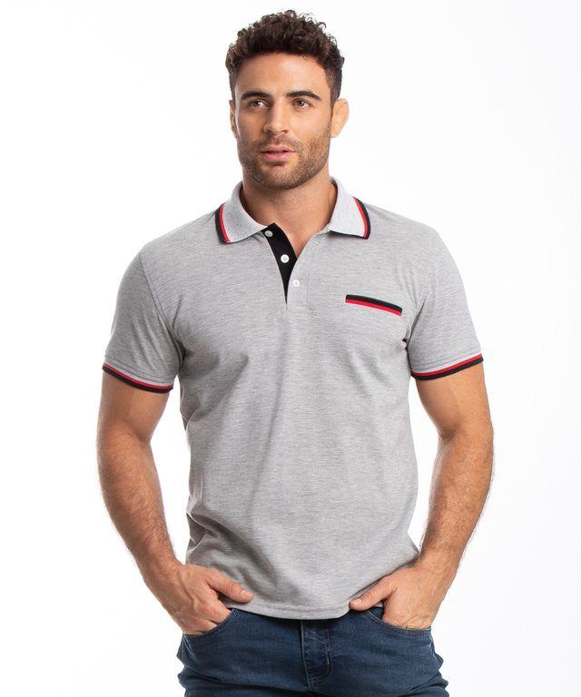 Camiseta-Polo-Guaira-Gris