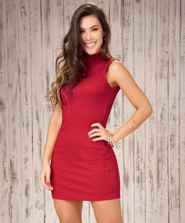 Vestido-Maja-Rojo