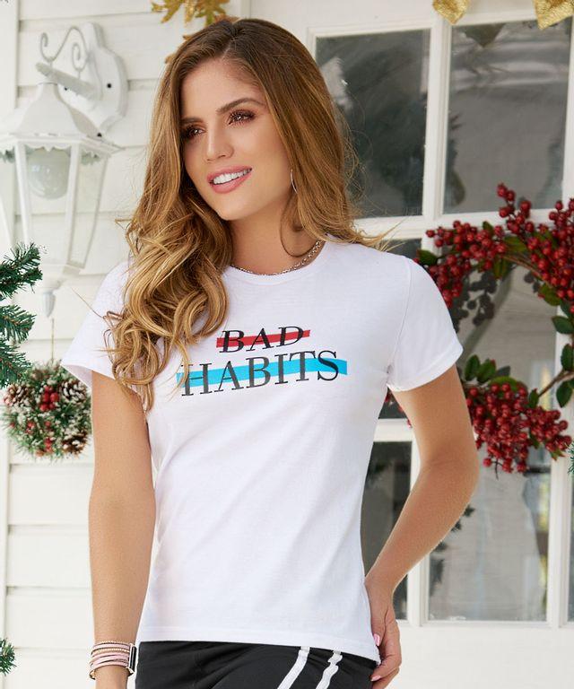 Camiseta-Bad-Blanco
