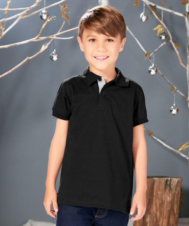 Camiseta-Polo-Tito-Negro