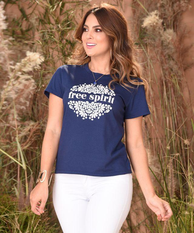 Camiseta-Barbados-Azul