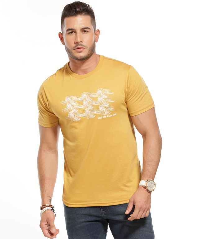 Camiseta-Santos-Mostaza