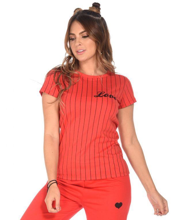 Camiseta-M.U-Melissa-Rojo