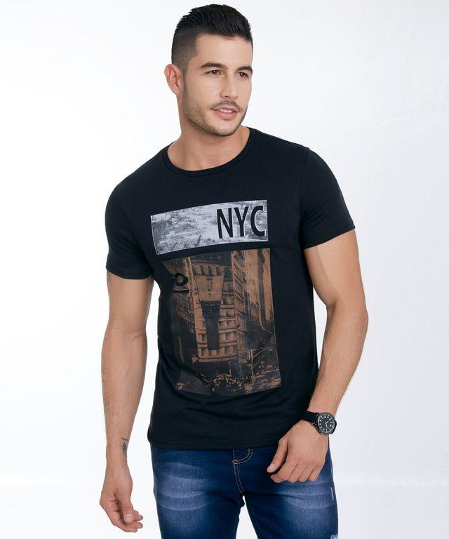 Camiseta-Lisboa-Negro