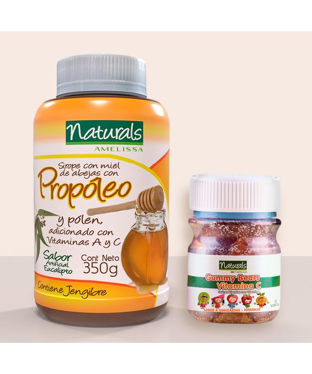 Set-propoleo-Gomas-Vitamina-C