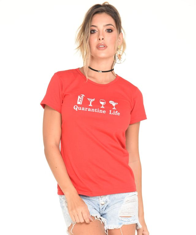 Camiseta-Life-Rojo