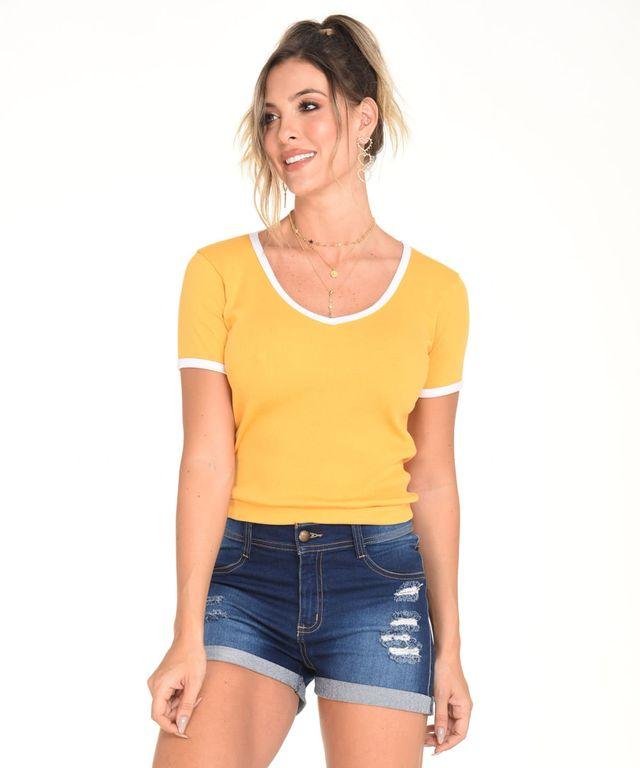 Camiseta-Sedona-Mostaza