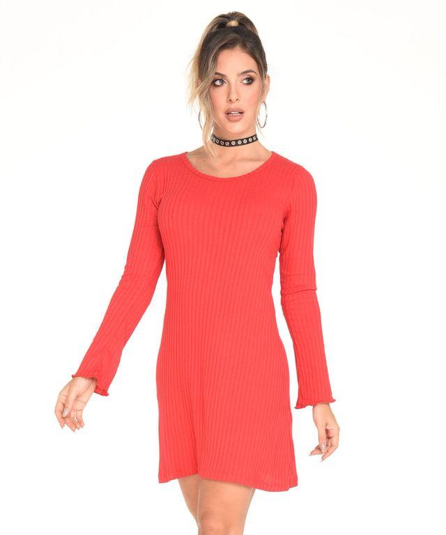 Vestido-Musa-Rojo