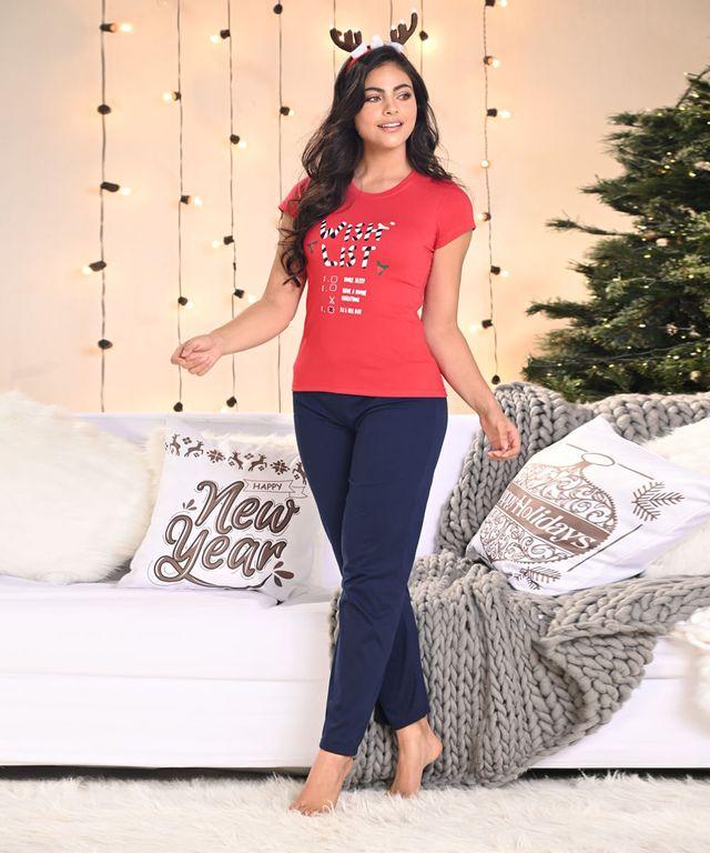 Pijama-Christmas-Woman-Rojo-Azul
