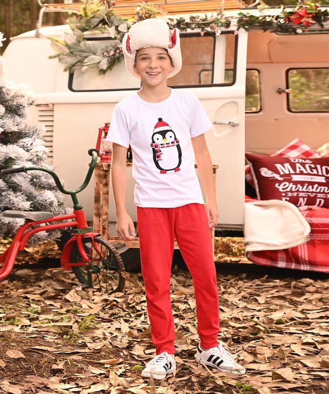Pijama-Pinguino-Boy-Blanco-Rojo