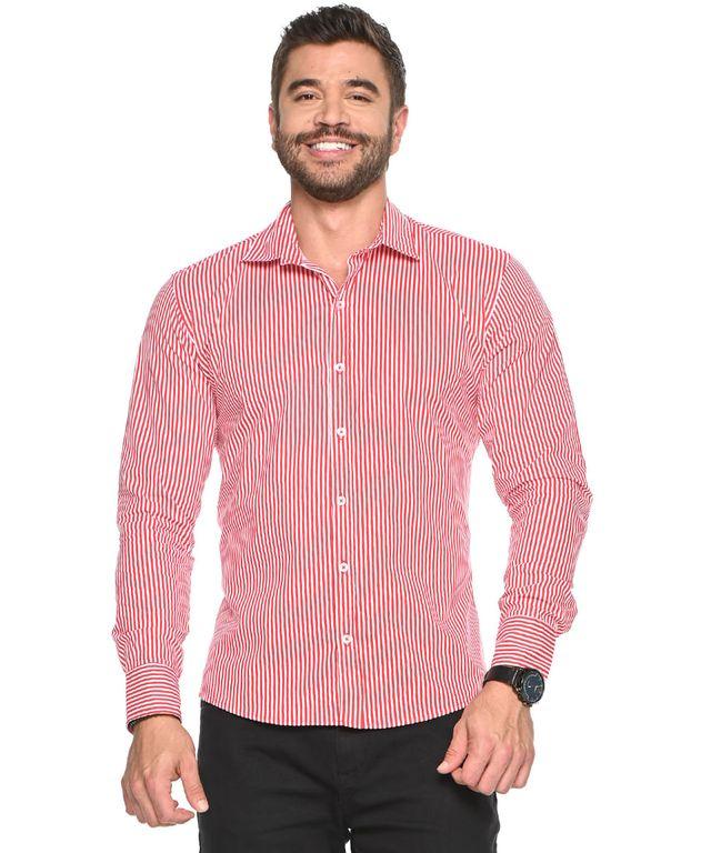 Camisa-Quad-Rayas-Rojo