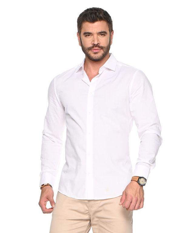 Camisa-Laroche-Blanco