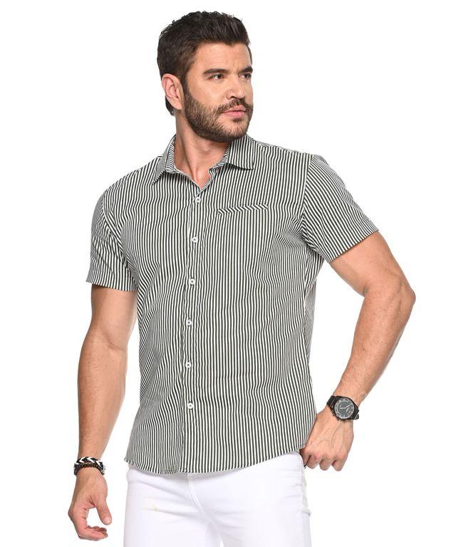 Camisa-Hedi-Rayas-Verde