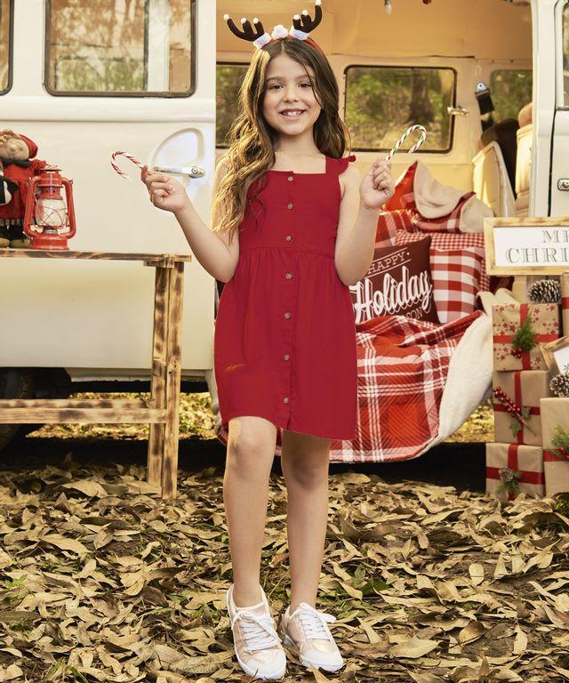 Vestido-Chloe-Rojo