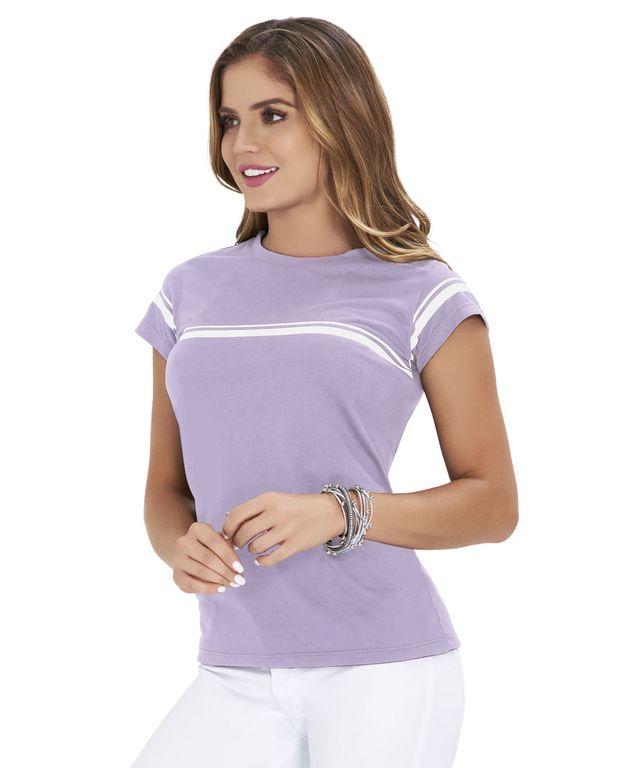 Camiseta-Layla-Lila