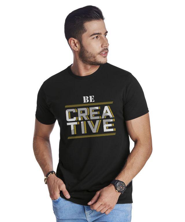 Camiseta-Creative-Negro