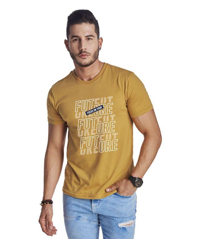 Camiseta-Future-Mostaza