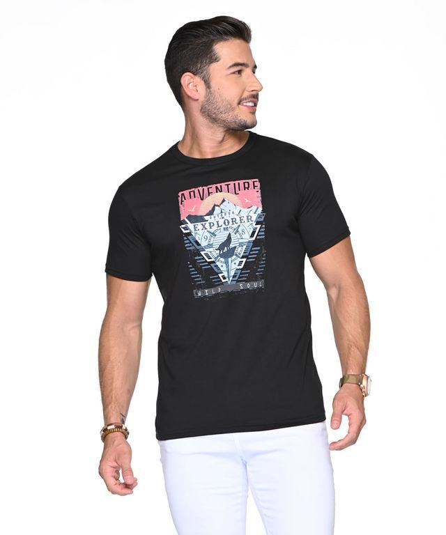 Camiseta-Wild-Soul-Negro