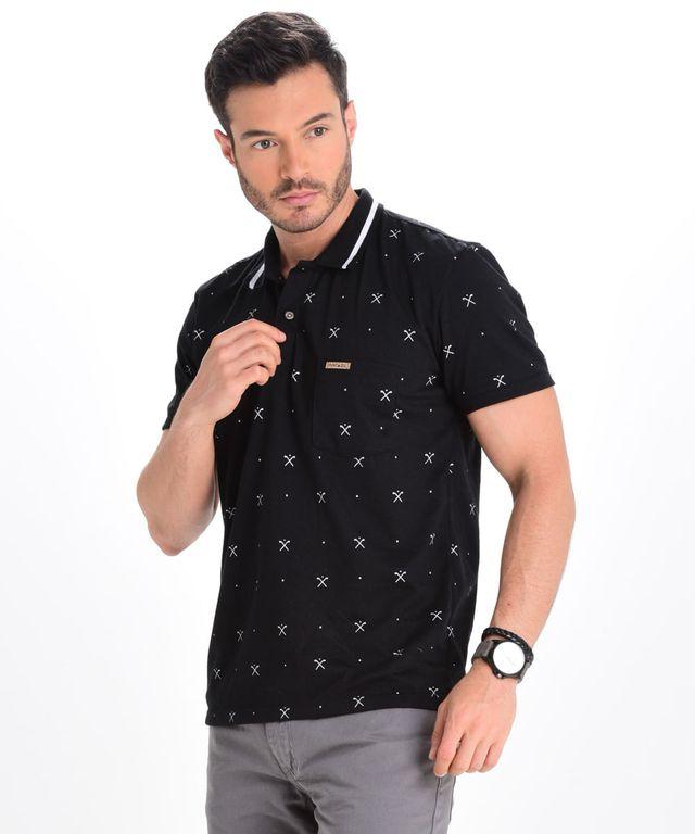 Camiseta-Polo-Spur-Negro