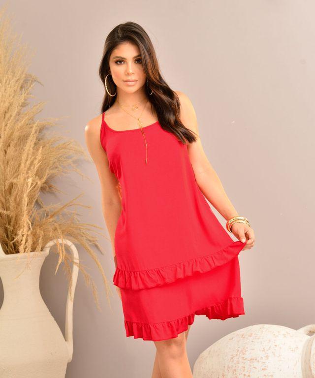 Vestido-Erial-Rojo